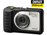 【アウトレット】 RICOH G800 防水デジタルカメラ