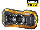 【アウトレット】 RICOH WG-50 オレンジ 防水デジタルカメラ