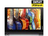 【アウトレット品】 タブレット YOGA Tab3 10 ZA0H0048JP スレートブラック [Android・Qualcomm APQ8009・10.1インチ・ストレージ 16GB・メモリ 2GB]