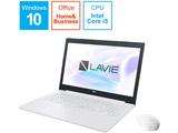 ノートPC PC-GN165FDZDCHDD2TDA [Core i5・15.6インチ・Office付き・HDD 500GB・メモリ 4GB]
