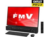 【アウトレット】 デスクトップPC ESPRIMO FH-X/C3 FMVFXC3B オーシャンブラック [Core i7・27インチ・HDD 3TB・メモリ 8GB]