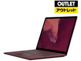 モバイルノートPC Surface Laptop 2 LQQ-00057 バーガンディ [Core i7・13.5インチ・Office付き・SSD 256GB・メモリ 8GB]