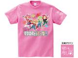 【10月下旬入荷予定】 [ピンク/L] マクとま(マクロスがとまらない)Tシャツ Ver.3 「歌は…癒し?」 ピンク/Lサイズ ※入荷次第順次のお届け