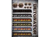 DeToNator(デトネーター)001ステッカー