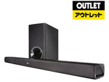ホームシアター (サウンドバー) ブラック DHTS316K [2.1ch /Bluetooth対応] 【外装不良品】