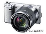 α NEX-5N (シルバー) ボディ