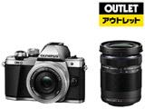 【在庫限り】【アウトレット】 OM-D E-M10 Mark II EZダブルズームキット シルバー [マイクロフォーサーズ] ミラーレス一眼カメラ