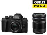 【アウトレット】 ミラーレス一眼カメラ OM-D E-M10 Mark II[EZダブルズームキット] ブラック