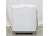 〔展示品〕2槽式洗濯機  ホワイト AQW-N50-W [洗濯5.0kg /乾燥機能無 /上開き]