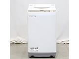 〔展示品〕縦型洗濯乾燥機  ゴールド系 ES-T5EBK-N [洗濯5.5kg /乾燥3.5kg /ヒーター乾燥(排気タイプ) /上開き]