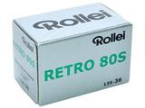高解像度スーパーパンクロマティック白黒フィルムROLLEI RETRO 80S 135-36