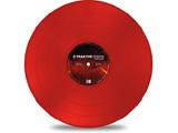 TRAKTOR SCRATCH TIMECODE MK2 Vinyl RED (タイムコードMK2 VINYL/レッド)