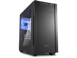 S1000 Window SHA-S1000-W (ミニタワーケース/電源別売り/ブラック/アクリルサイドパネルモデル)