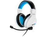 SHA-ER3-W ゲーミングヘッドセット RUSH ER3 ホワイト [φ3.5mmミニプラグ /両耳 /ヘッドバンドタイプ]