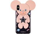 【在庫限り】 Case for Apple iPhone X/XS - Teddy Space 15166