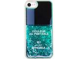 【在庫限り】 Liquid Case for Apple iPhone 7/8 - Nail Polish Turquoise 15411