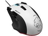 有線レーザーゲーミングマウス[USB・Win] Tyon (16ボタン・ホワイト) ROC-11-851-AS 【ゲーミングマウス】