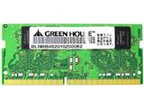 増設メモリ ノートパソコン用 PC4-19200 DDR4 2400MHz対応 GH-DNF2400-8GB [SO-DIMM DDR4 /8GB /1枚]