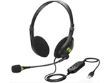 ヘッドセット  ブラック HEADPU2MB [USB /両耳 /ヘッドバンドタイプ]