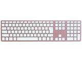 スマホ/タブレット対応Bluetoothキーボード Matias Wireless Aluminum Keyboard Rose Gold 日本語配列 FK418BTRG-JP