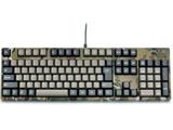 有線キーボード[USB 1.5m&PS/2]Majestouch 2 Camouflage-R かな無し/テンキー有り Cherry MX 青軸 (日本語配列108キー) FKBN108MC/NMR2