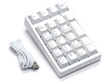 FTKP22MPSMW2  Majestouch TenKeyPad 2 Professional CHERRY MX SILENT(テンキー・USB接続・マットホワイト)
