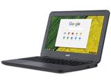 11.6型ノートPC [Chrome OS] Chromebook 11 N7 スティールグレイ  C731-N14N