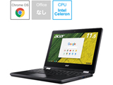 【在庫限り】 モバイルノートPC Chromebook Spin 11 オブシディアンブラック R751T-N14N [11.6インチ]