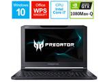 ゲーミングノートPC Predator Triton 700 PT715-51-A76Y オブシディアンブラック [15.6型・Core i7・SSD 512GB・メモリ 16GB]