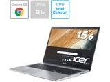 【10/22発売予定】 ノートパソコン Chromebook 315 ピュアシルバー CB315-3H-A14N [15.6型 /intel Celeron /eMMC:32GB /メモリ:4GB /2020年10月モデル]