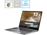 ノートパソコン Chromebook Spin 713(コンバーチブル型) スティールグレイ CP713-2W-A38P/E [13.5型 /intel Core i3 /eMMC:64GB /メモリ:8GB /2020年10月モデル]