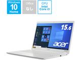 ノートパソコン Aspire 3 パールホワイト A315-56-F38U/W [15.6型 /intel Core i3 /SSD:256GB /メモリ:8GB /2021年4月モデル]