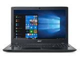 【在庫限り】 ノートPC Aspire E 15 E5-576-F34D/K オブシディアンブラック [Win10 Home・Core i3・15.6インチ・HDD 500GB・メモリ 4GB]