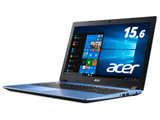 ノートPC Aspire 3 A315-32-N14U/B ストーンブルー [Win10 Home・Celeron・15.6インチ・SSD 256GB・メモリ 4GB]