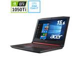 【在庫限り】 ゲーミングノートPC Acer Nitro 5 AN515-52-N76H シェールブラック [Win10 Home・Core i7・15.6インチ・メモリ 16GB・ GTX 1050Ti]