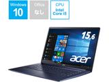 SF515-51T-H58Y/B ノートパソコン Swift 5 チャコールブルー [15.6型 /intel Core i5 /SSD:512GB /メモリ:8GB /2019年3月モデル]
