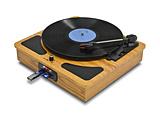 レコードプレイヤー/ラジオ+メディアレコーダー TRM109W