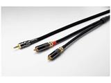ポータブルオーディオ用ラインケーブル 3.5mm-RCA(1.0m) CFMINITORCA1.0
