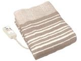 【在庫限り】 タイマー付き電気敷き毛布 CWS553-BK