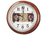 RE559H 電波からくり時計 「ウェーブシンフォニー」