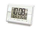 電波デジタル目覚まし時計 SQ698S
