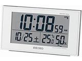 電波目覚まし時計 SQ758W