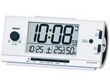 電波目覚まし時計 NR534W(白)