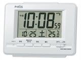 電波目覚まし時計 NR535H (白パール)