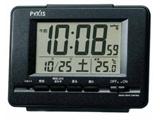 電波目覚まし時計 NR535K (黒メタリック)