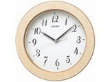 【在庫限り】 電波掛け時計 「ナチュラルスタイル」 KX216A