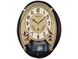 電波アミューズ掛け時計 「ミッキー&ミニー」 FW579B