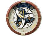 からくり掛け時計 RE601B RE601B 茶メタリック