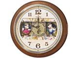 電波からくり掛け時計「Disney Time(ディズニータイム)ミッキー&ミニー」 FW587B