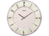 セイコー電波掛け時計 KX504P ピンクパール